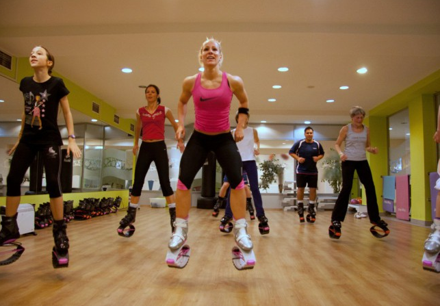 Фитнес с Kangoo Jumps