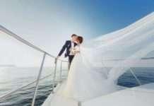 Аренда теплохода для свадебного торжества