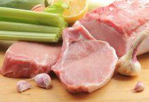 Популярный вид мяса - свинина